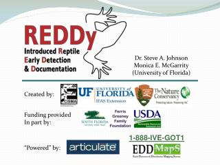 Dr. Steve A. Johnson Monica E. McGarrity University of Florida