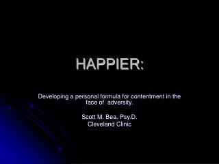 HAPPIER: