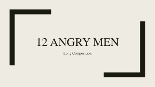 12 Angry Men by Reginald Rose