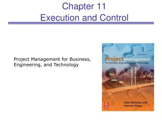 Chapter 11 Execution and Control