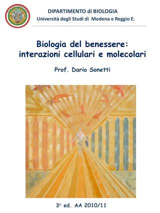 DIPARTIMENTO di BIOLOGIA                       Universit  degli Studi di  Modena e Reggio E.                          __