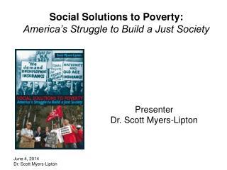 November 25, 2012 Dr. Scott Myers-Lipton