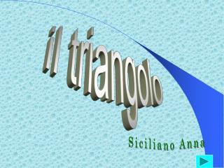 Il triangolo nell arte e nell architettura