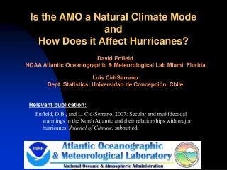 NOAA Atlantic Oceanographic  Meteorological Laboratory