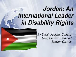 Jordan: An International Leader in Disability Rights