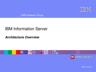 IBM Information Server