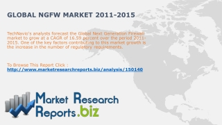 Global NGFW Market 2011-2015:MarketResearchReports.biz