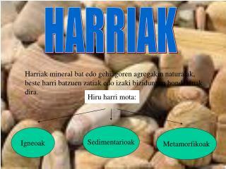 HARRIAK
