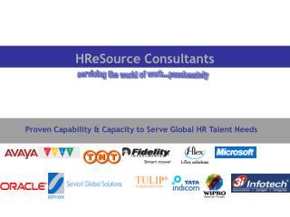 HReSource Consultants
