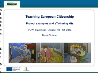 European Youth - The Citizens of Tomorrow