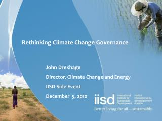 Rethinking Climate Change Governance