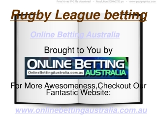 Rugby League Betting