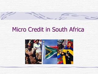 Micro Credit in South Africa