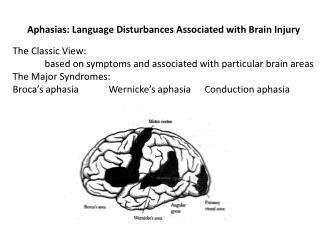 Aphasias: Language Disturbances Associated with Brain Injury