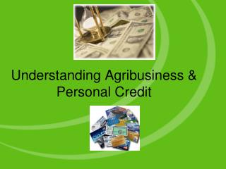 Understanding Agribusiness  Personal Credit