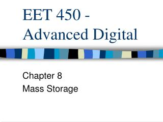 EET 450 - Advanced Digital