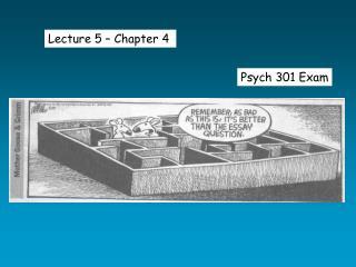 Psych 301 Exam