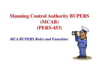 Manning Control Authority BUPERS MCAB  PERS-453