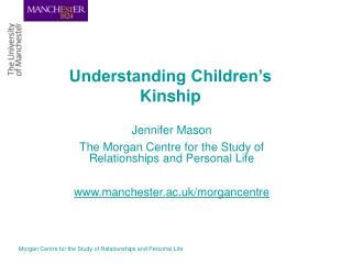 Understanding Children s Kinship