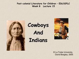 Post-colonial Literature for Children   EDU32PLC Week 8   Lecture 15