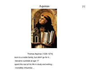 Aquinas                                     [1]