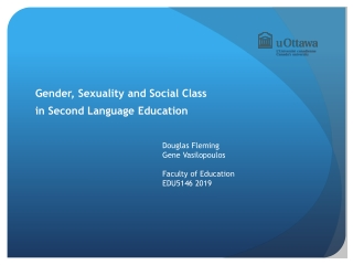 Class in language and identity research