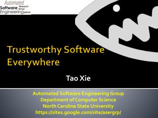 Trustworthy Software Everywhere
