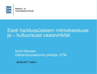 Eesti keel.