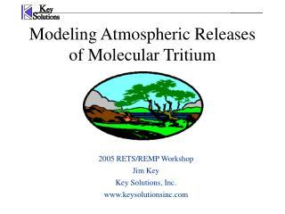 Modeling Atmospheric Releases of Molecular Tritium