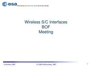 Wireless S