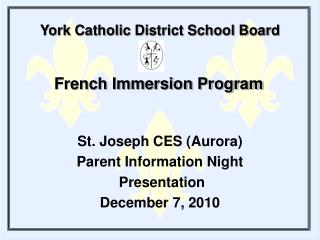 York Catholic District School Board