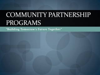 A Successful School Business Partnership