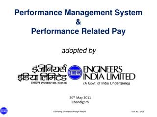 Performance Management System    Performance Related Pay   adopted by