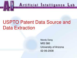 USPTO Patent Data Source and Data Extraction