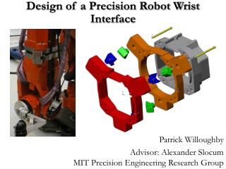Design of a Precision Robot Wrist Interface