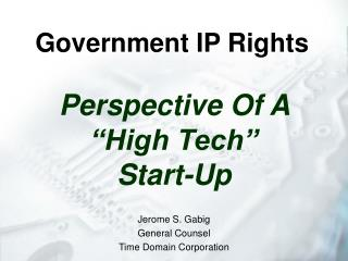 Government IP Rights