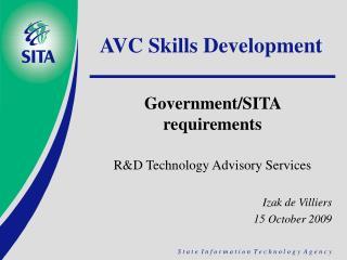 AVC Skills Development