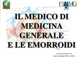 Dr Giovanni PAGANA  06 Medico di Famiglia FIMMG - METIS