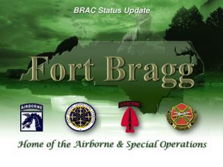 BRAC Status Update