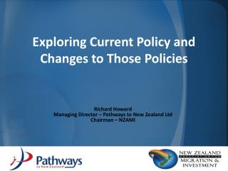 Exploring Current Policy and Changes to Those Policies