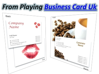 Business Card Uk