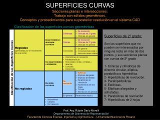 SUPERFICIES CURVAS