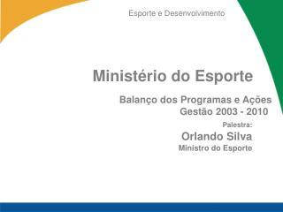 Minist rio do Esporte