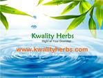 Kwality Herbs