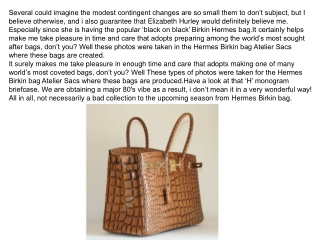 As more market desire are important madam,a lot more hermes