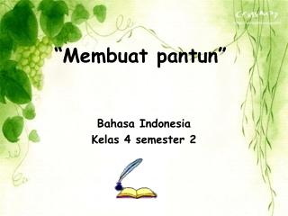 bahasa Indonesia
