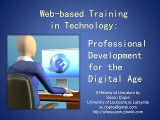 Web-based Training  in Technology: