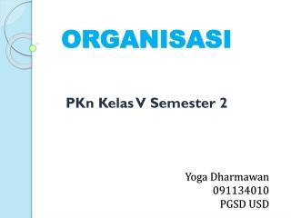 Media Pembelajaran PKn kelas V semester 2