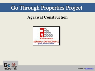 Agrawal Constructions - GoThrough Properties, Bhopal