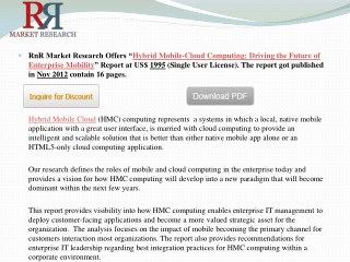 Hybrid Mobile Cloud Computing Industry Market Driving the Fu